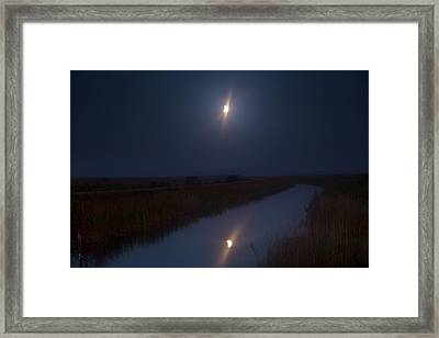 Eclipsed Framed Print by Mark Andrew Thomas