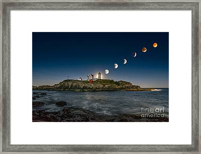 Eclipsing The Nubble Framed Print by Scott Thorp