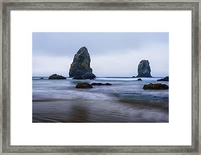 Ecola Beach Framed Print
