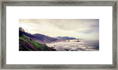 Ecola State Park Framed Print
