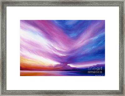 Ecstacy Framed Print by James Christopher Hill