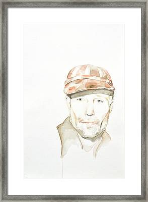 Ed Framed Print by Addie Price