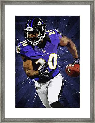 Ed Reed Framed Print by Semih Yurdabak