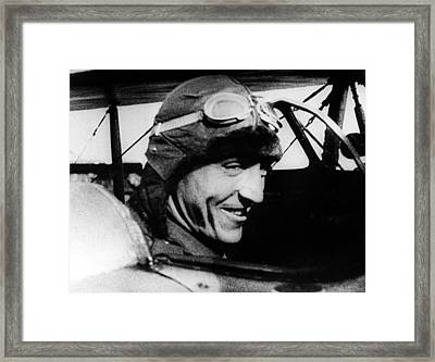 Eddie Rickenbacker, World War I Flying Framed Print