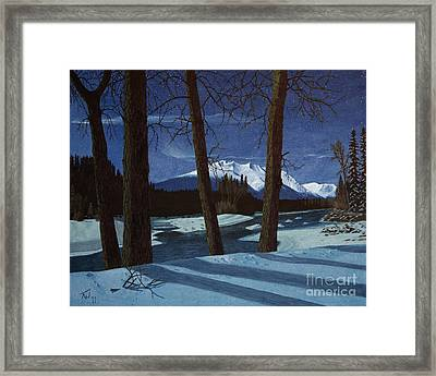 Eddy Park Moonlight Framed Print