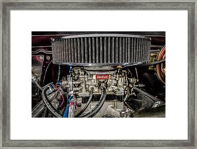 Edelbrock Framed Print