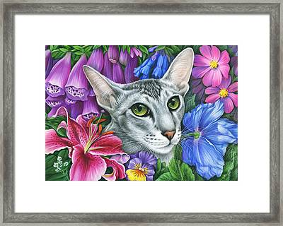 Eden Garden 2 Framed Print by Irina Garmashova-Cawton