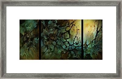 Edens Gate Framed Print by Michael Lang