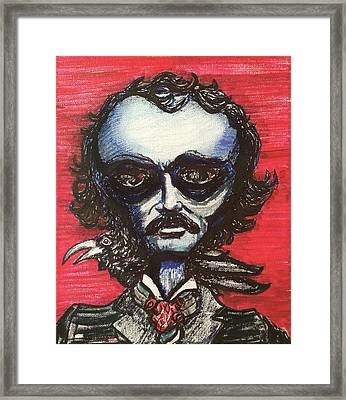 Edgar Alien Poe Framed Print