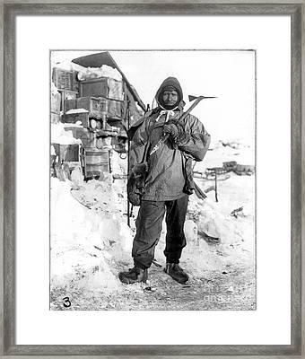 Edgar Evans (1876-1912) Framed Print by Granger