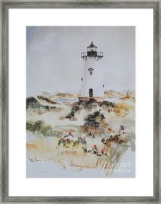 Edgartown Light Marthas Vineyard Framed Print