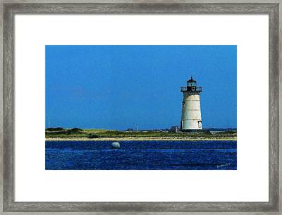 Edgartown Light Painting Framed Print