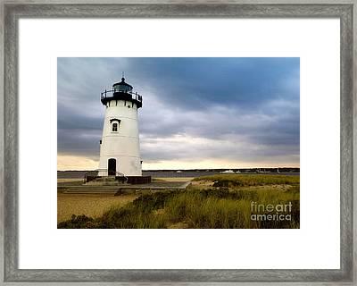 Edgartown Lighthouse Cape Cod Framed Print by Matt Suess