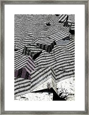 Edge Framed Print by Haruo Obana