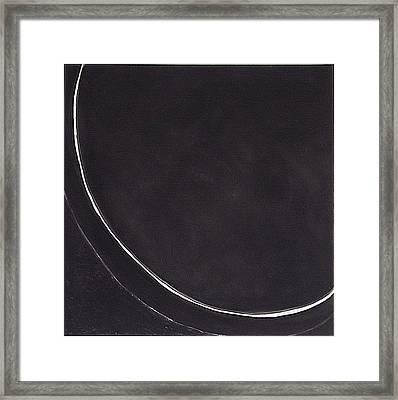 edge IV Framed Print by Carol Reed