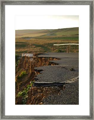Framed Print featuring the photograph Edge Of Beyond by Mira Cooke