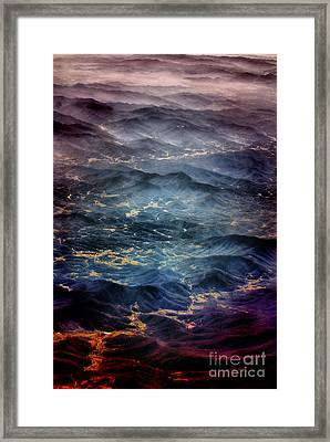 Edge Of Smoke Framed Print