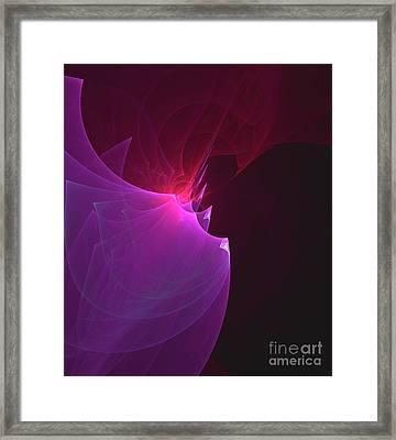 Edge Of Space Framed Print