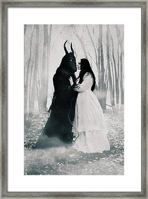 Edge Of The Forest Framed Print by Cambion Art
