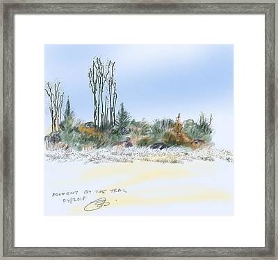 Edge Of The Okefenokee Framed Print