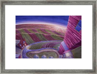 Edge Of Town Iv Framed Print by Scott Kirby