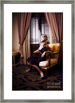 Edge Of Your Seat Entertainment Framed Print by Jorgo Photography - Wall Art Gallery