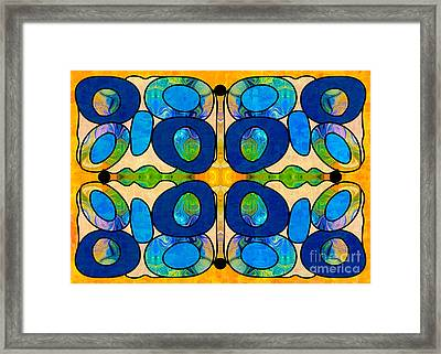 Edible Extremes Abstract Bliss Art By Omashte Framed Print by Omaste Witkowski