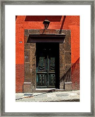 Edifice Framed Print by Mexicolors Art Photography