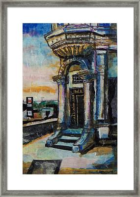 Edina Bank Framed Print by Laurie Tietjen