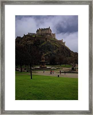 Edinburgh Castle Framed Print by Artistic Photos