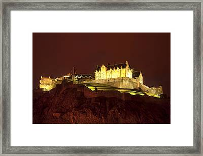 Edinburgh Castle Framed Print