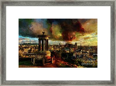 Edinburgh Scotland 01 Framed Print