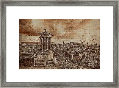 Edinburgh Scotland 01n Framed Print by Gull G