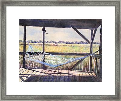 Edisto Afternoon Framed Print