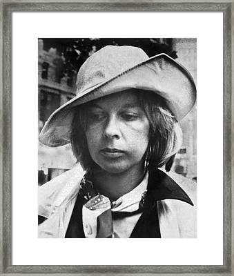 Edith Irving Begins Jail Framed Print