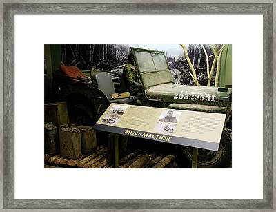 Editorial Alaska Military Highway Framed Print by Robert Braley