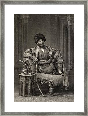 Edmond O Donovan,1844-1883. British Framed Print by Vintage Design Pics