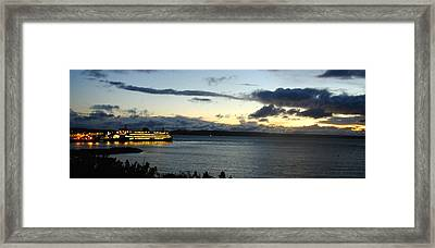 Edmonds Framed Print by Phil Rodriguez
