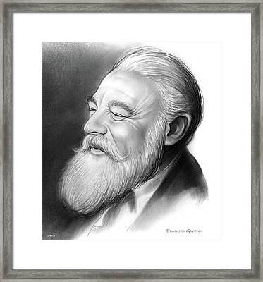 Edmund Gwenn Framed Print