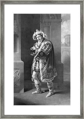 Edmund Kean 1787 To 1833 English Actor Framed Print