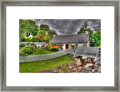 Edradour Distillery Shop Framed Print