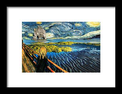 Munch Framed Prints