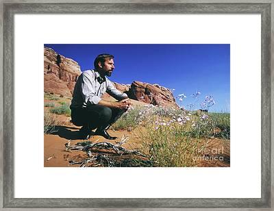Edward Abbey, Author Of Desert Solitaire, 1969 Framed Print
