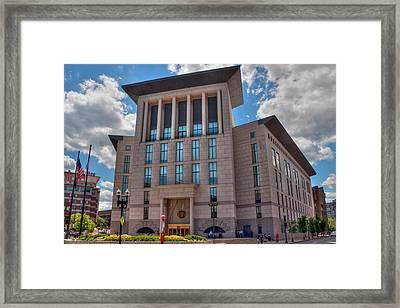 Edward Brooke Courthouse - Boston Framed Print