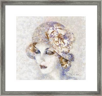 Edwardian Elegance Framed Print by Shirley Stalter