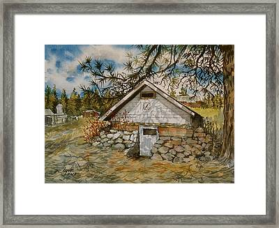 Edwards Root Cellar Framed Print