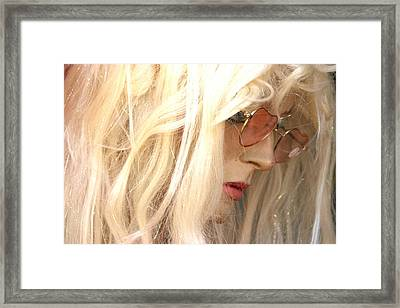 Edwina 2 Framed Print by Jez C Self