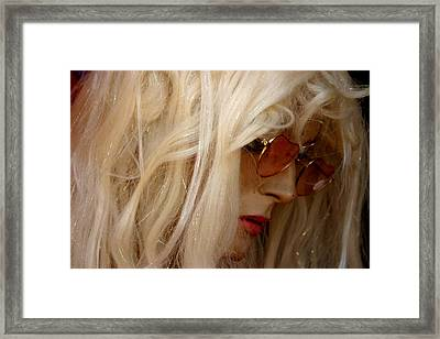 Edwina Framed Print by Jez C Self