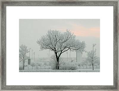 Eerie Days Framed Print