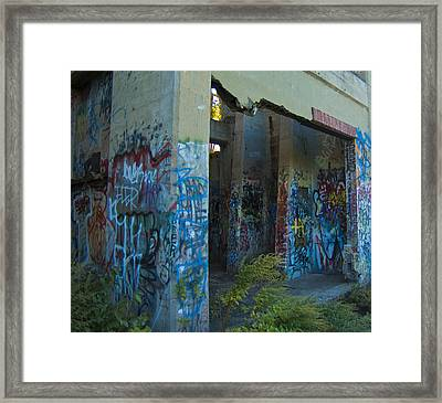 Eerie Foliage Framed Print by Timothy Hedges
